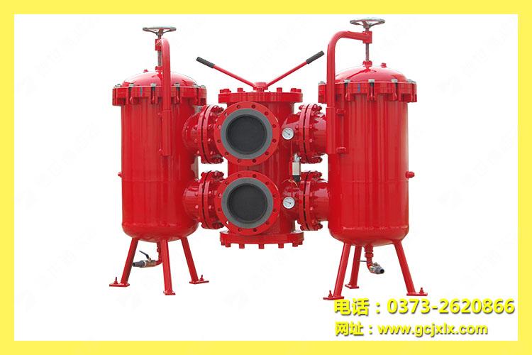 SDRLF大流量双桶回油过滤器